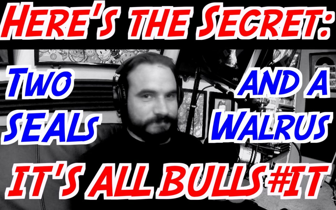 Here's the Secret; It's All Bulls#it – TSAW 006